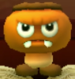 Goombrat as viewed in the Character Museum from Mario Party: Star Rush
