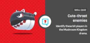 Icon for Minor threats of the Mushroom Kingdom trivia quiz