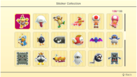 Stickers (page 3) in Super Mario Party