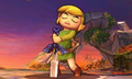 SSB4 3DS - Pulling the Master Sword.png