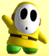 Yellow Shy Guy from Mario Super Sluggers