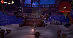 The Beach in Luigi's Mansion 3