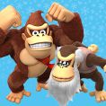 Option in a Play Nintendo opinion poll on which pair of Kongs to play as in the Nintendo Switch version of Donkey Kong Country: Tropical Freeze. Original filename: <tt>1x1_DKCTFSwitchPoll1_DK_Cranky_v01_orF37z1.6ef5f3152e16d0ba.jpg</tt>