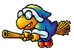 Artwork of Kamek from Yoshi Touch & Go (later reused in Yoshi's Island DS)
