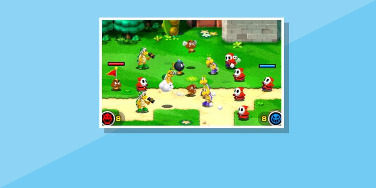 The image for the 1st question of Mario & Luigi Superstar Saga + Bowser's Minions Game Personality Quiz