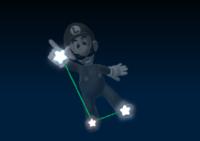 Luigi's constellation in the game Mario Party 9.