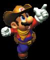 Mario Cowboy Artwork - Mario Party 2.png