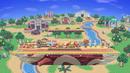 Smashville in Super Smash Bros. Ultimate