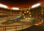 The icon for Waluigi Stadium, from Mario Kart: Double Dash!!