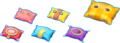 Colored Pillow Artwork - Mario & Luigi Dream Team.png
