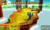 Hole 12 of Mountain Course in Mario Golf: World Tour