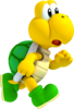 Artwork of a Koopa Troopa from New Super Mario Bros. 2