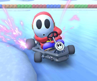 The icon of the Koopa Troopa Cup's challenge from the 2020 Trick Tour in Mario Kart Tour.