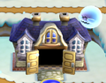 A Ghost House in New Super Mario Bros. Wii