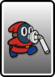 A Red Slurp Snifit card from Paper Mario: Color Splash