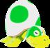 Model of the Snooza Koopa enemy in Super Mario Sunshine.