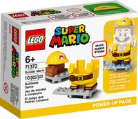 Packaging of the set Builder Mario Power-Up Pack