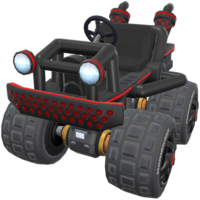 Dark Buggy from Mario Kart Tour.
