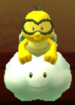 Lakitu as viewed in the Character Museum from Mario Party: Star Rush