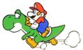 SMB Pinball-Mario Riding Yoshi Art - Copy.PNG