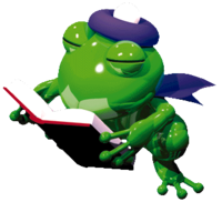 Artwork of Frogfucius' Student