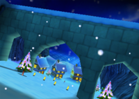 Frosty Village, from Diddy Kong Racing
