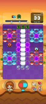 Stage 931 from Dr. Mario World