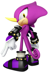 Espio's artwork, from Mario & Sonic at the Rio 2016 Olympic Games.