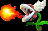 Flying Fire Piranha Plant