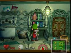 Laundry Room from Luigi's Mansion