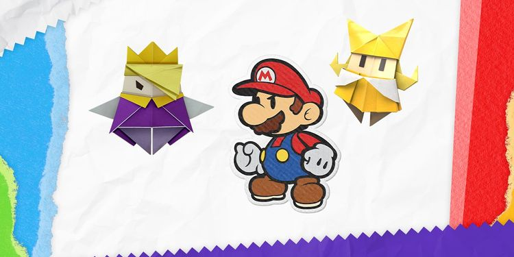 The picture shown with the third question in Paper Mario: The Origami King Trivia Quiz