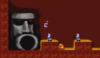 Mario in the level Cave 3.