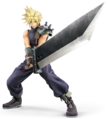 Cloud Strife from Super Smash Bros. Ultimate