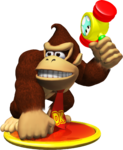 Artwork of Donkey Kong, from Mario Party 4.