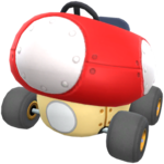 Mushmellow from Mario Kart Tour