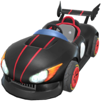 Wild Black from Mario Kart Tour