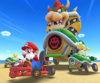 The icon of the Pauline Cup challenge from the Marine Tour in Mario Kart Tour.