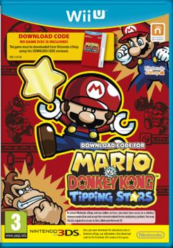 European (UK) cover art for Mario vs. Donkey Kong: Tipping Stars on Wii U.