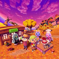 One of the pictures in Nintendo Friends Object Hunt