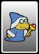 A Kamek card from Paper Mario: Color Splash
