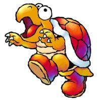 Hookbill the Koopa's artwork from Yoshi's Island: Super Mario Advance 3