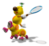 Sticker of Wiggler from Super Smash Bros. Brawl.