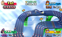 Slot Car Derby from Mario Party: The Top 100