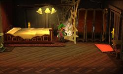 The Bedroom segment from Luigi's Mansion: Dark Moon.