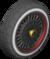 The Block_Black tires from Mario Kart Tour