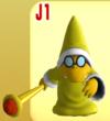 Yellow Magikoopa from Mario Super Sluggers