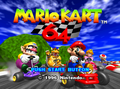Mario Kart 64 Title Screen.png