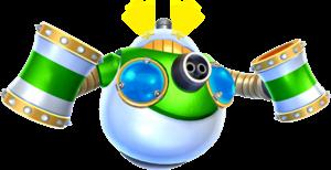 Artwork of Megahammer from Super Mario Galaxy 2