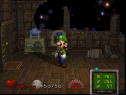 The Observatory in Luigi's Mansion