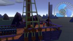 Violet Passage from Paper Mario: Color Splash